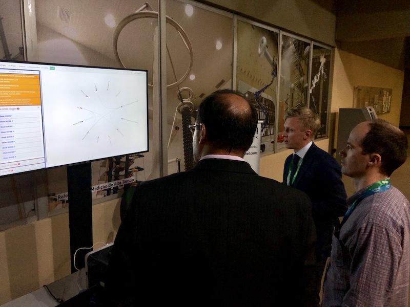 Система мониторинга и диагностики цифровых коммуникаций была представлена на конференции по шине процесса в Бразилии
